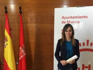 La concejal y portavoz municipal Rebeca Pérez