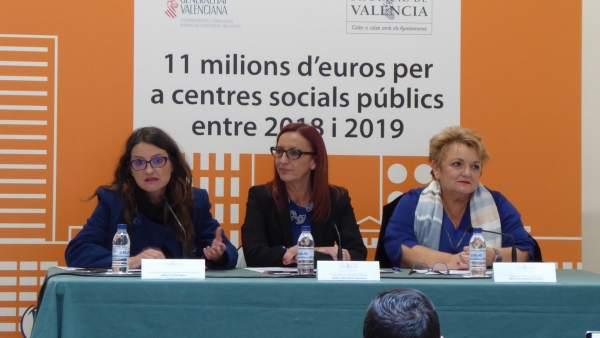 Presentación del programa en la Diputación
