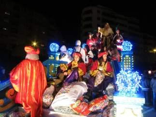 Cabalgata de Reyes en Salamanca