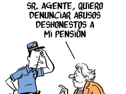 Abusos a las pensiones