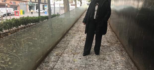 Lorite muestra el estado de la plaza Rosales.