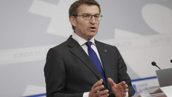 O Titular Do Goberno Galego, Alberto Núñez Feijóo, Comparecerá En Rolda De Pren