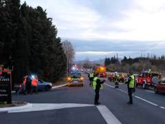 Al menos cuatro menores mueren al chocar un tren y un autobús en Francia