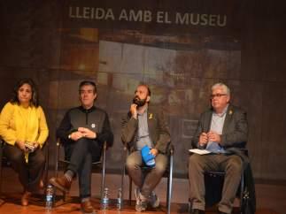 Xus Llaverro, Josep Giralt, Marcel Mauri y Agustí Alcoberro