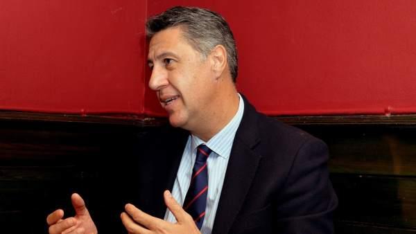 El candidato del PPC, Xavier García Albiol.