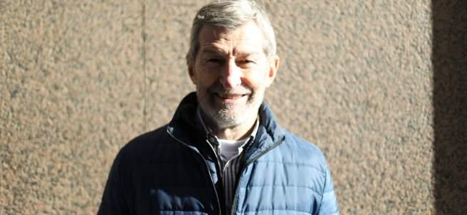 Julio Rodríguez, nuevo secretario general de Podemos en la ciudad de Madrid.