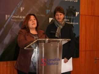 Carmen Palomino y Pau Morey