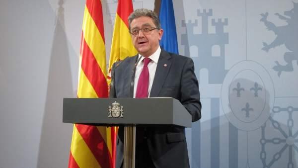 El delegado del Gobierno en Catalunya, Enric Millo.