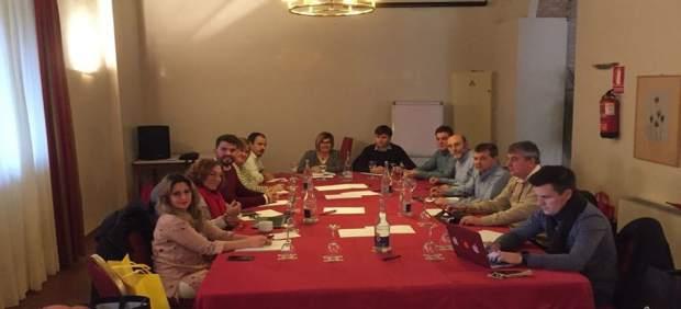 Reunión Gobierno de la Diputaicón de Cáceres en Hervás (Cáceres)
