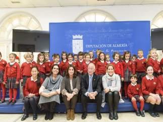 Los alumnos del Colegio Altaduna visitan la Diputación