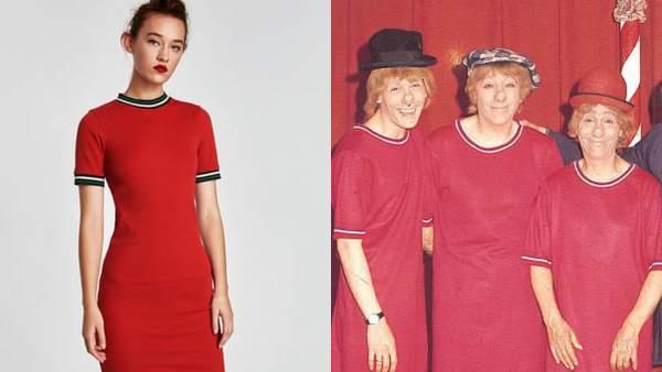 150ade77339 La hija de Fofito compara un vestido de Zara con las camisetas de  Los  Payasos de la Tele
