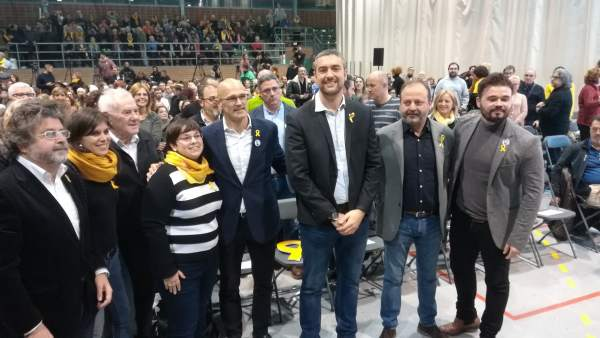T.Castellà, M.Vilalta, E.Maragall, G.Espigares, R.Romeva, B.Solé, R.Rufián