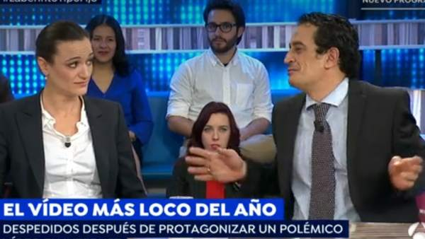 Silvia Charro y Simón Pérez