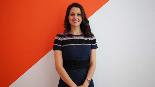 Inés Arrimadas, presidenta del Grupo Parlamentario de Ciudadanos