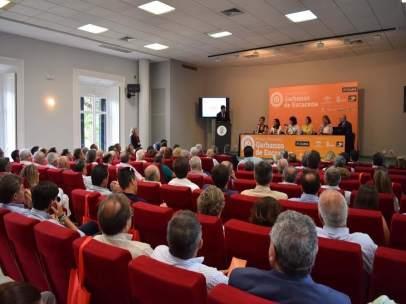 Encuentro del IGP Garbanzo de Escacena, en Huelva.