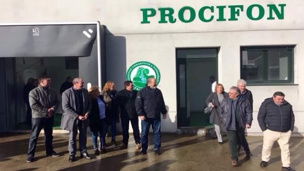 Centro de despiece de carne de A Fonsagrada de la Diputación de Lugo