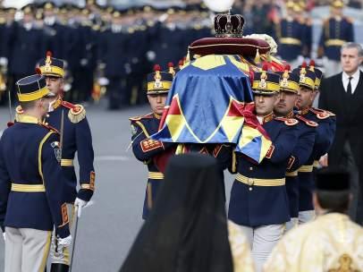 Funeral del exmonarca Miguel I de Rumania en Bucarest