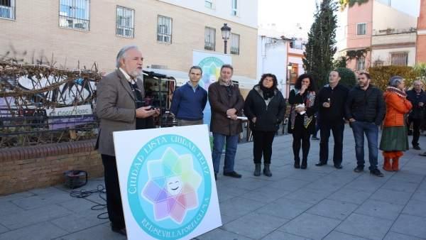 Presentación de la iniciativa 'Adopta un alcorque'