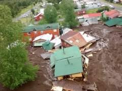Al menos tres muertos, 15 desaparecidos y 20 casas destruidas por alud en sur de Chile