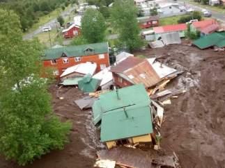 Deslizamiento de tierra en Chile