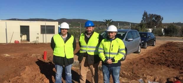 Visita a las obras del concejal de medio ambiente, Álvaro Aranda