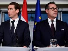 Los ultras austríacos renuncian a un referéndum de salida de la UE
