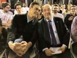 Pedro Sánchez (PSOE) y Miquel Iceta (PSC)