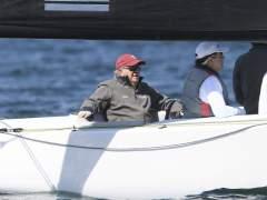 """El rey Juan Carlos: """"Sigo de cerca la política, es algo que va dentro de uno"""""""