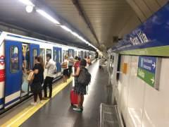 Huelga de Metro sin incidentes: circula el 64% de los trenes con respecto a un día normal