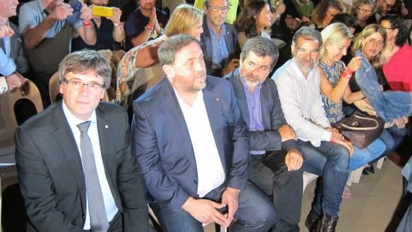 Pt.C.Puigdemont, O.Junqueras, J.Sànchez, J.Cuixart.