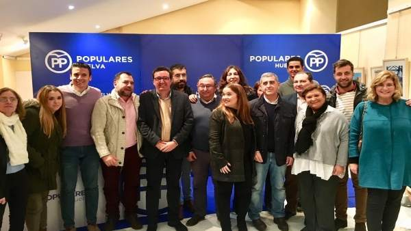 Congreso local del PP de Zalamea la Real (Huelva)