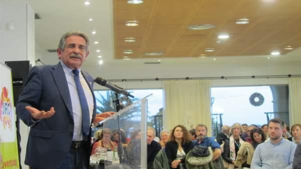 Miguel Ángel Revilla, secretario general PRC y presidente de Cantabria