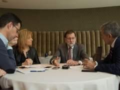 """Rajoy: """"Planeamos un pacto para garantizar que suba el salario mínimo"""""""