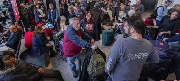 Vuelos suspendidos en el aeropuerto de Atlanta