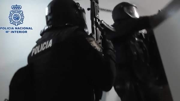 Operación policial en la detención de un yihadista en Majadahonda