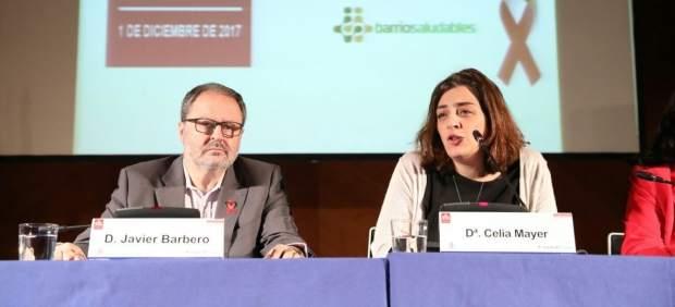 Javier Barbero y Celia Mayer