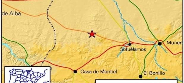 Terremoto en Ossa de Montiel