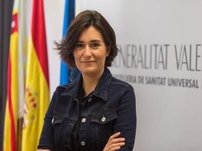 Carmen Montón, consellera de Sanitat