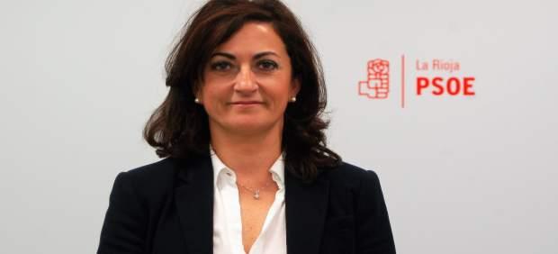 Concha Andreu, portavoz del PSOE en el Parlamento