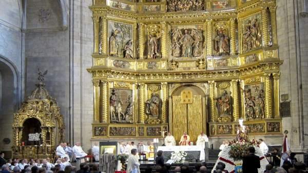 Imagen de la celebración de la Virgen de la Esperanza