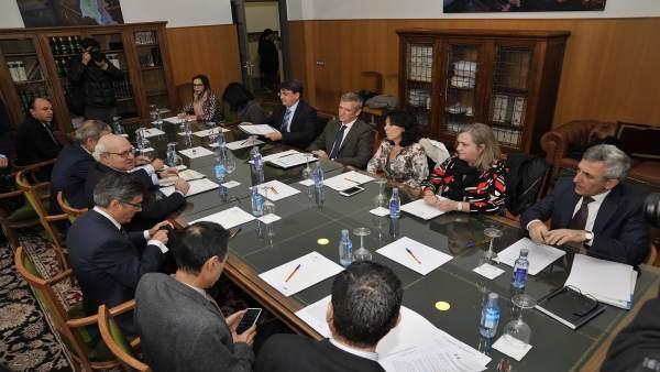 Reunión en A Coruña de la Comisión Mixta Xunta-Fiscalía