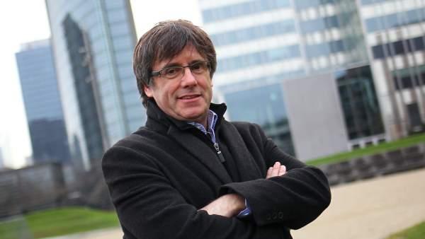 Entrevista a Carles Puigdemont.