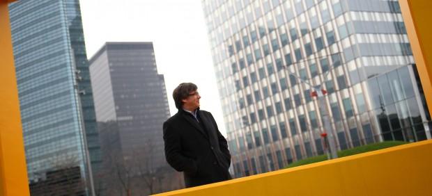 20minutos entrevista a Carles Puigdemont en Bruselas