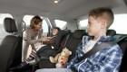 Cómo y dónde deben viajar los niños en el coche