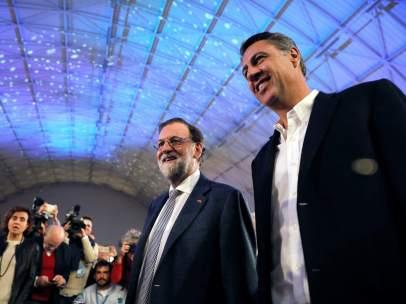 Rajoy y Albiol