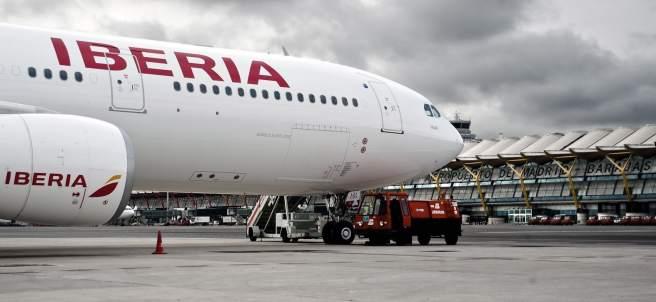 Avión A330-200 de Iberia
