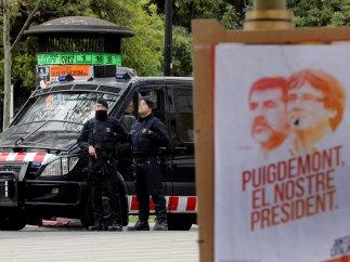 Seguridad en las calles de Barcelona