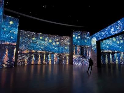 La exposición 'Van Gogh Alive'