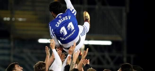 Despedida de Carlos Vela