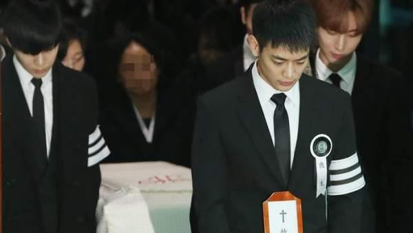 Procesión fúnebre de Kim Jong-hyun